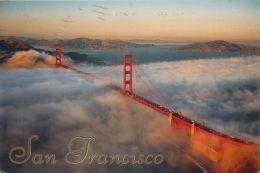 Golden Gate Bridge, San Francisco, California, United States USA US Postcard Used Posted To UK 2008 Stamp - San Francisco