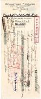 LETTRES DE CHANGE, BONNETERIE FANTAISIE, Paul LAPLANCHE Et Fils, B.P.F 244,80, Le 15 Nov 1938, (fr : 1.40) - Lettres De Change