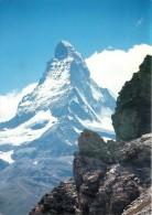 Matterhorn, Zermatt VS, Switzerland Postcard Used Posted To UK 2005 Stamp - VS Valais