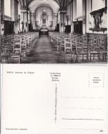 NETHEN-INTERIEUR DE L´EGLISE-EDITION-MAISON BOURGIGNON-CARTES-VUES-SM ETZ-BOUGE-PAS ENVOYEE-PHOTO VERITABLE - Grez-Doiceau