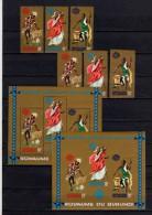 Belgisch Congo Belge Burundi N° 99A/B-101A/B + BL4-4A MNH Exposition New York Cat. 18.00Eu. - 1962-69: Neufs