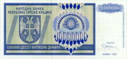 Croatia 1000000 Dinar 1993 Pick R12 UNC - Croatia