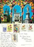 San Marino Postcard Used Posted To UK 1972 Stamp - San Marino