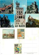 San Marino Postcard 1971 Stamps - San Marino