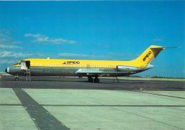 IPEC Australia Douglas DC-9 DC9 33F  Essendon Aiport, Victoria Airplane Postcard - 1946-....: Moderne