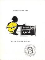 Carnet Suriname Eerste Dag Van Uitgifte - Kinderzegels 1963 - Surinam ... - 1975