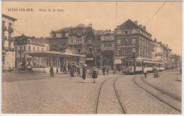 22176g GARE - TRAM - HOTEL - CAFE - RESTAURANT - Heyst-sur-Mer - Heist