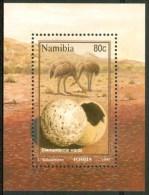 1995 Namibia Fauna Fossili D'Animali Fossils D'Animaux Block MNH**-ZZ23 - Namibia (1990- ...)