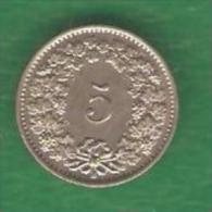 5  RAPPEN  SUISSE  1934 B  (PRIX FIXE) (BK29) - Suiza