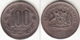 CILE 100 Pesos 1984 KM#226.1 - Used - Cile