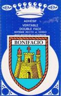 BONIFACIO  -  BLASON ADHESIF DOUBLE FACE  - - Aufkleber