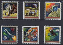 BURUNDI 1972, EXPLORATION ESPACE, 6 Valeurs Oblitérées / Used. R067 - Space