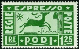 ITALIA, ITALY, COLONIE ITALIANE, ITALIAN COLONIES, EGEO, RODI, 1936, FRANCOBOLLO NUOVO (MNH**), Scott E1 - Egeo (Rodi)