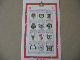SMOM 1988 CONVENZIONI POSTALI POSTA AEREA - BF INTEGRO - Malte (Ordre De)
