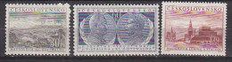 PGL CB198 - TCHECOSLOVAQUIE Yv N°752/54 ** - Cecoslovacchia