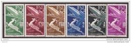 IF89-L4113TAMOT.Marrucos . Maroc .Marocco.IFNI  ESPAÑOL.Fauna Gacela Y Avion.1953.(Ed 89/94*) Con Charnela.LUJO - Sellos