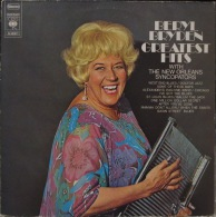 * LP *  BERYL BRYDEN GREATEST HITS With THE NEW ORLEANS SYNCOPATERS (Holland 1970 EX!!!) - Jazz