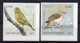 Greece 2014 > 3rd 2014 > Mi ... > Song Birds Of Greek Countryside > Selfadhesive New MNH ** - Nuevos