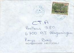 Cote D´Ivoire 2001 Tiassale Buffalo 400F+20F Cover - Ivoorkust (1960-...)