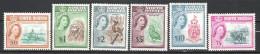 North Borneo 1961 Definitives MNH CV £167 (2 Scans) - North Borneo (...-1963)