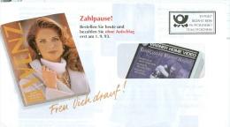 BRD Pforzheim Entg. Bez. 1993 Wenz Modeversandhaus Frau Pullover - Textil