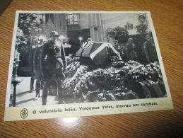 Large Photo Valdemar Veiss Lethonian  Guerre WWII - Documents