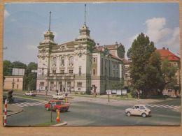 Jelenia Gora / Car Fiat 125 / Fiat 126 / Theater /  Poland - Pologne