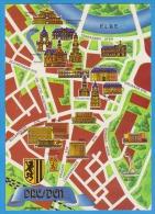 GERMANY DRESDEN MAP UNUSED - Dresden