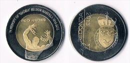 Redonda  1 Dollar  2013-N.Mandela - Bimetal - Monete