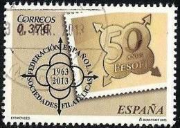 2013-ED. 4793 - SERIE COMPLETA- 50 ANIVER. DE FESOFI-USADO - 2011-2020 Usados