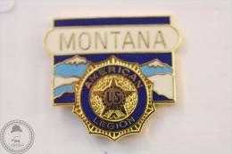 American Legion Montana - Pin Badge #PLS - Militares