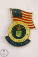 United States Air Force - Desert Storm - Pin Badge #PLS - Militares