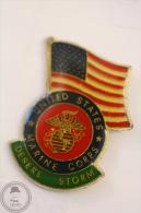 United States Marine Corps - Desert Storm - Pin Badge #PLS - Militares