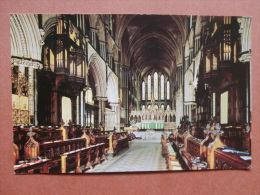 33180 PC: WORCESTERSHIRE: Worcester Cathedral: The Choir And Lady Chapel. - Worcestershire
