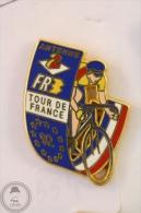 Antenne 2 France - Tour De France 1992 Cycling - Signed DECAT Paris - Pin Badge #PLS - Ciclismo