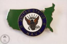 United States Navy  - Pin Badge #PLS - Militares