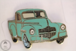 Vintage Old Classic Truck Turquoise  - Signed Demons & Mervelles- Pin Badge #PLS - Otros