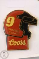 No 9 Bill Elliott Coors Helmet - Pin Badge #PLS - Pin