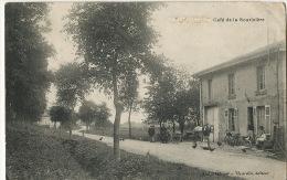Varney Café De La Souriciere Censure Guerre 1914 Edit Thibault Hyardin Vers Vierzon Forges - Andere Gemeenten