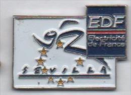 EDF , Sévilla 92 , Exposition Universelle Séville - EDF GDF