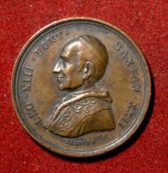 Médaille Du Pape Léon XIII - VATICAN ET ÉTATS PONTIFICAUX - Royaux/De Noblesse