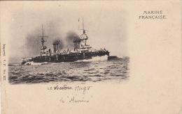 CPA  BATEAUX / MARINE DE GUERRE / CUIRASSE  /   LE MASSENA /  VP 937 - Guerra