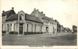 BELGIQUE - FLANDRE ORIENTALE - SINT-NIKLAAS - NIEUWKERKEN-WAES (WAAS) - Dorpplaats. - Sint-Niklaas