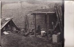CP Photo Mai 1915 BAILLEUL (près Vitry-en-Artois) - Bivouac Allemand à La Sucrerie (A66, Ww1, Wk1) - Unclassified