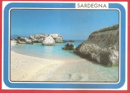CARTOLINA VG ITALIA - BAUNEI (NU) - Cala Mariolu - 12 X 17 - ANNULLO MANUALE - Non Classés