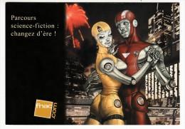 BD - Illustration De Fred Beltran - Parcours Sciences Fiction - Ansichtskarten