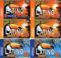 CARTES PREPAYEES  IRADIUM 7,50e/15e   Latino  ( Lot De 6)  6791 - Prepaid Cards: Other
