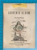 3 Cents #41 Commercial Cover  FDC ( Souvenir Album Inoguration Of The Manila Cathédral Dec. 8 1958) 6 Scan - Philippinen