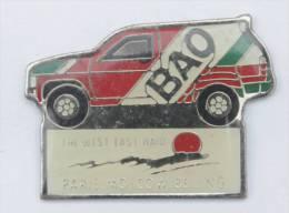 Pin's  PARIS MOSCOU BEIJING (Pékin) - La Voiture 4x4 - Sponsor BAO - Penn -  D679 - Rallye