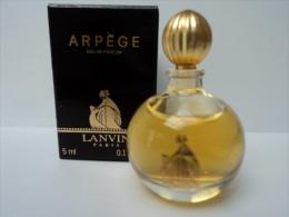 """LANVIN"""""""" ARPEGE """""""" MINI EDP 5 ML  LIRE !!! - Miniatures Modernes (à Partir De 1961)"""